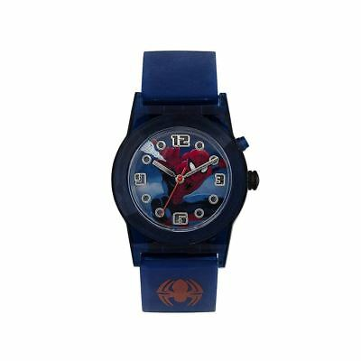 Official Licensed Marvel Spider-Man Character Flashing Analogue Watch