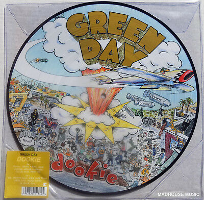 GREEN DAY LP Dookie PICTURE DISC 2017 Limited Edn Vinyl NEW Sealed + Promo Sheet