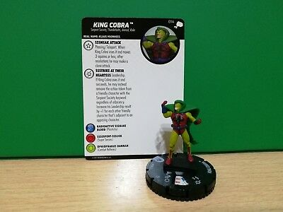 Heroclix The Mighty Thor - 14 King Cobra