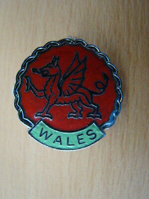 Wales Lapel Badge