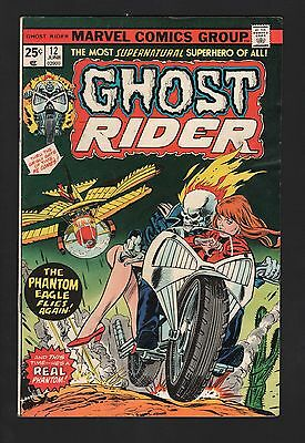 Ghost Rider #12 VG/F 5.0 Off White Pages