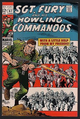Sgt. Fury & His Howling Commandos #67 F/VF 7.0 Off White Pages