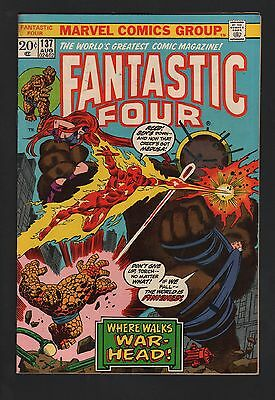 Fantastic Four #137 F 6.0 Off White Pages