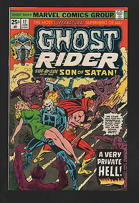 Ghost Rider #17 VF 8.0 Off White Pages