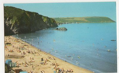 The Beach, Tresaith Postcard, B342