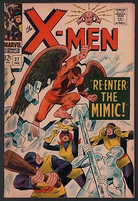 X-Men #27 VG- 3.5 Cream to Off White Pages