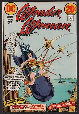 Wonder Woman #205 VG/F 5.0 Off White to White Pages Bondage Cover