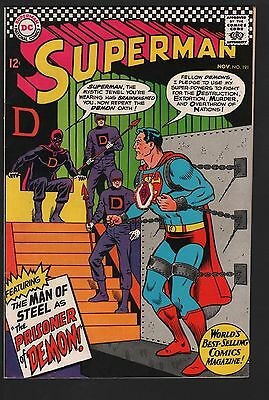 Superman #191 VF- 7.5 White Pages