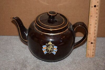 World War II Teapot Escorted to USA by Allied Forces For Britain and Democracy