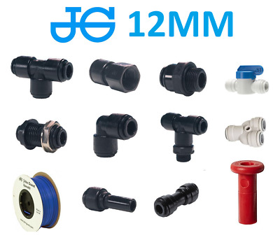 John Guest 12MM Push Fit Water Fittings - Caravan / Motorhome / Boat Systems
