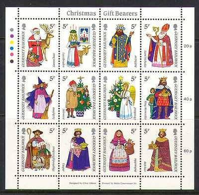 Guernsey 1985 ANIMATED Christmas/Gifts sht (b6191c)