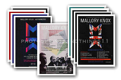 MALLORY KNOX - 10 promotional posters  collectable postcard set # 1
