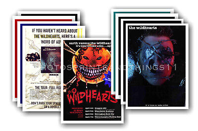 THE WILDHEARTS - 10 promotional posters  collectable postcard set # 1
