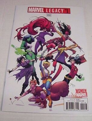 Marvel Legacy #1 Amy Reeder Women Of Marvel Variant 1:25 $3 Flat Rate Shipping!