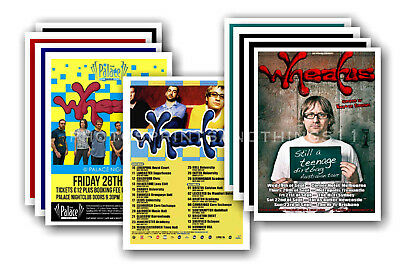 WHEATUS - 10 promotional posters  collectable postcard set # 1