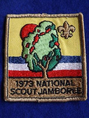 Boy Scouts 1973 National Scout Jamboree Vintage Patch Collector Badge