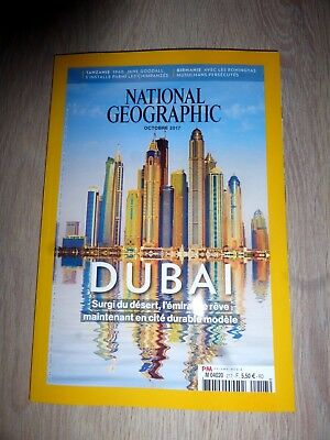 Revue  National Geographic  N° 217  Octobre  2017  /  Dubai
