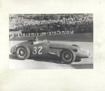 1956 Maserati 250F Race Car Fangio ORIGINAL Factory Photograph wy4953
