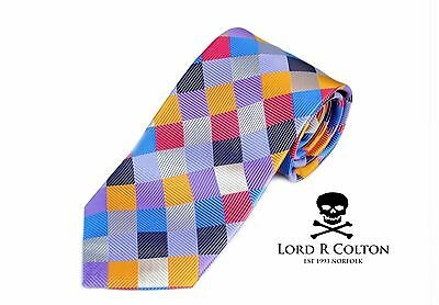 $195 New Lord R Colton Masterworks Tie Copper Absolution Woven Silk Necktie