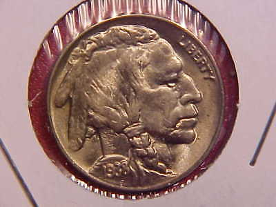 1938 D/s Buffalo Nickel - Ch Unc - See Pics! - (X256)