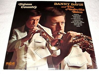 "Danny Davis & The Nashville Brass ""Dream Country"" 1975 Country LP, SEALED!, Orig"