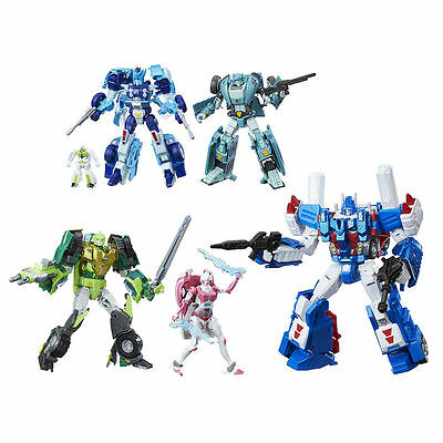 Transformers Generations Platinum Autobot Heroes 5 Pack NEW