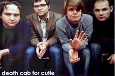 DEATH CAB FOR CUTIE ~ WAVE GROUP 24x36 MUSIC POSTER NEW/ROLLED!