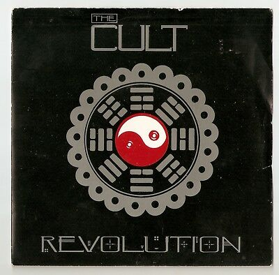 "The Cult - Revolution  Bw All Souls Avenue  7"" vinyl 1985 A1/B1"