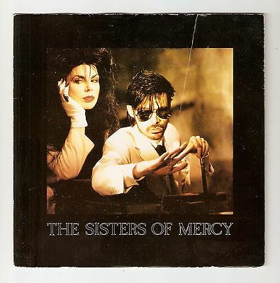 "The Sisters of Mercy - Dominion  Bw Untitled/Sandstorm 7"" vinyl 1988"