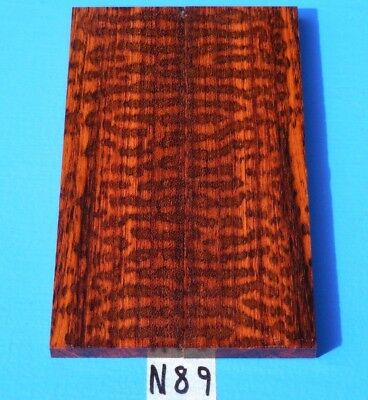 Suriname Snakewood Fancy Figured Knife Blank Handle Scales<>Exotic Wood Lumber