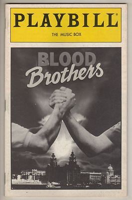 """Stephanie Lawrence   """"Blood Brothers""""  Playbill  1993  Kerry Butler"""