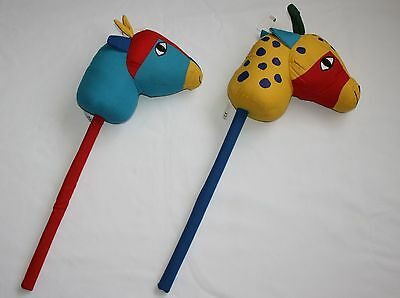 HOBBY HORSE Stick African Animal Themed Designs by Flying Tiger CE Approved Toy