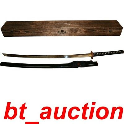 New Hand Forged 128cm Practical Training Tachi Samurai Sword (W128)