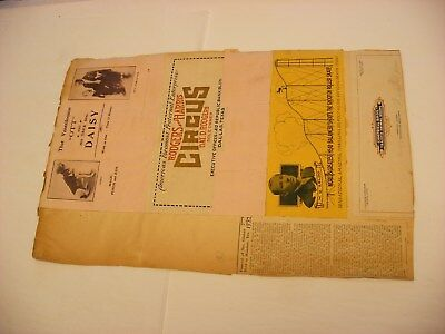 Vtg Antique Circus Freak Show Vaudeville Posters Milwaukee WI Juggler - Page 8