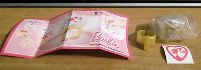 Kinder Surprise Barbie Ring/Stamper Limited Edition Canada Collectible TR135B