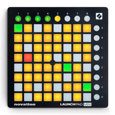 Novation Launchpad Mini MK2 Controller MKII Ableton Live 64 Grid Controller New