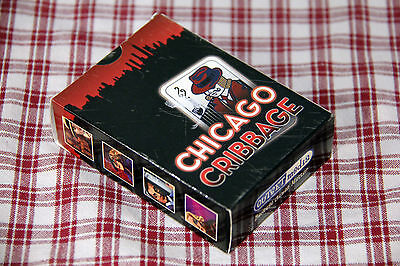 NEW! Very Rare! CHICAGO CRIBBAGE Expansion CARD GAME Outset Media HIGH RATINGS!