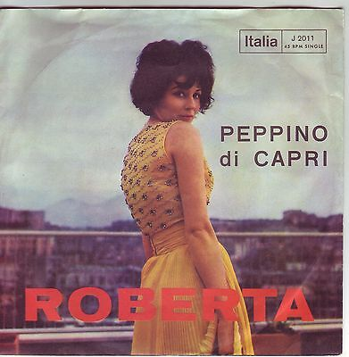 """7"" - PEPPINO DI CAPRI - Roberta - sehr RAR !!!"