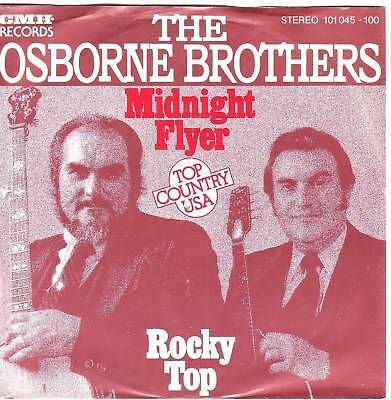 """7"" - THE OSBORNE BROTHERS - Midnight Flyer - sehr RAR"