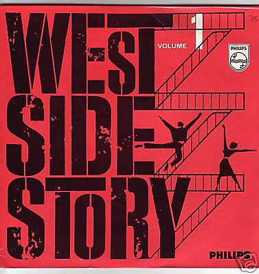 """7"" - WEST SIDE STORY - Filmmusik - EP"