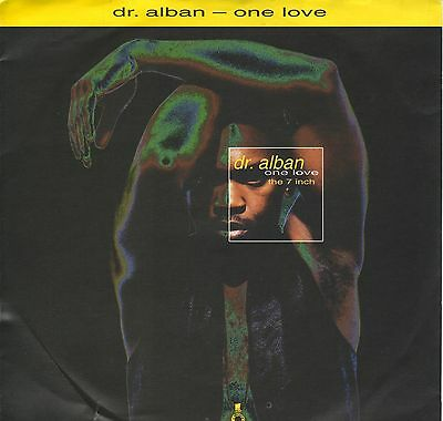 """""""7"""" - DR. ALBAN - One Love"""
