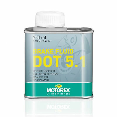 Motorex 250ml Synthetic Motorcycle Motorbike Bike Brake Fluid | DOT5.1