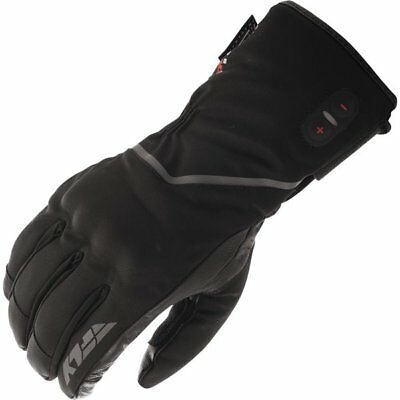 Fly Racing Ignitor Pro Heated Leather/Textile Gloves Motorcycle Gloves