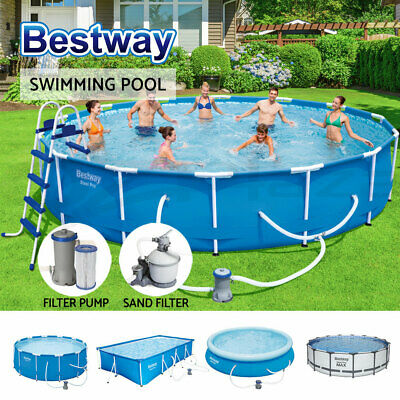 Bestway Above Ground Inflatable / Steel Swimming Pool Sand Filter Pump Ladder