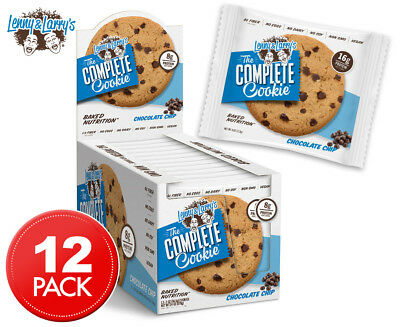 12 x Lenny & Larry's The Complete Cookie Chocolate Chip 113g