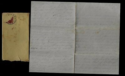 37th Massachusetts Infantry CIVIL WAR LETTER in Warrenton, VA - Anti-Slavery Etc