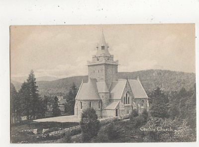 Crathie Church Vintage Postcard 644a