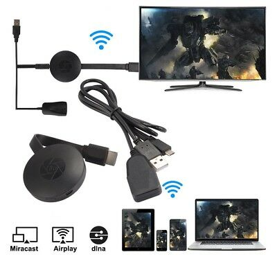 Dispositivo Cromecast Clone Miracast Wireless Hdmi Mirror Share Streaming Player