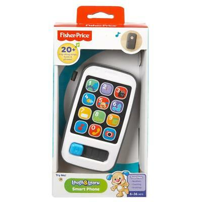 Fisher Price Laugh & Learn Smart Phone 20+ Songs & Phrases Toy