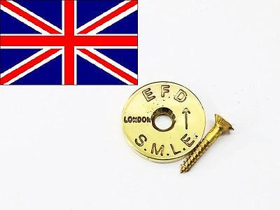 British Enfield No1 Brass Stock Disc REPRO